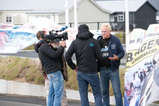 ARD-Interview - WDSF-Foto