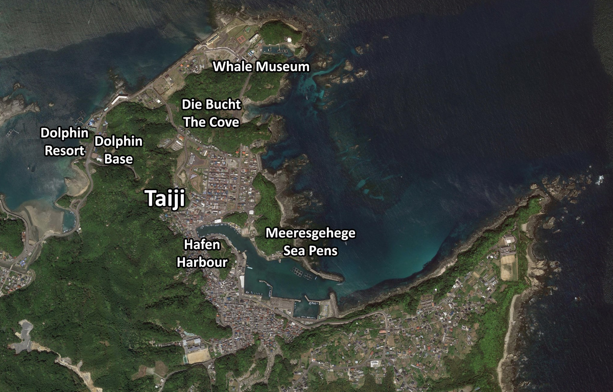 Taiji/Japan - Google Maps